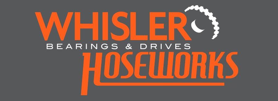 whisper bearings and drives logo
