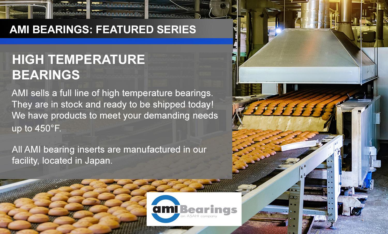High Temperature Bearings from AMI Bearings