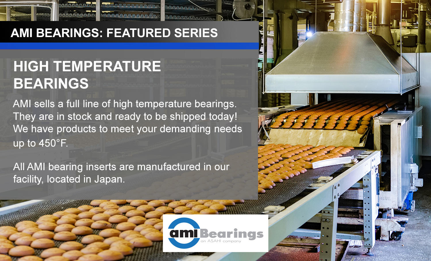 High Temperature Bearings from AMI Bearings
