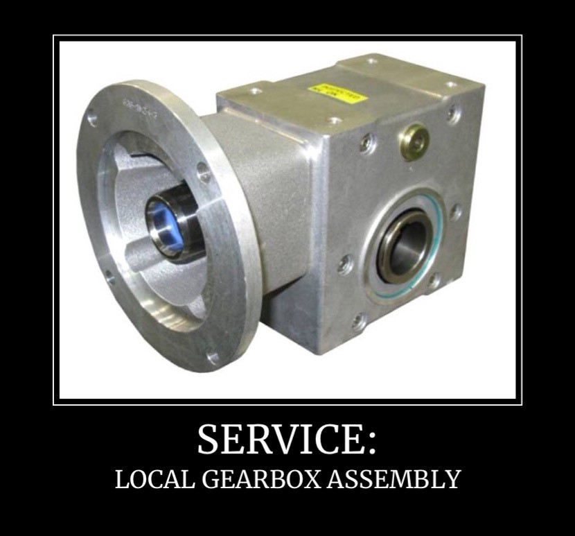 Whisler Bearings & Drives Does Local Gearbox Assembly
