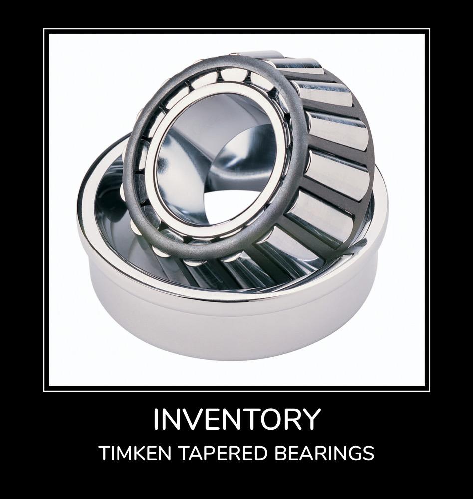 Inventory - Timken Tapered Bearings