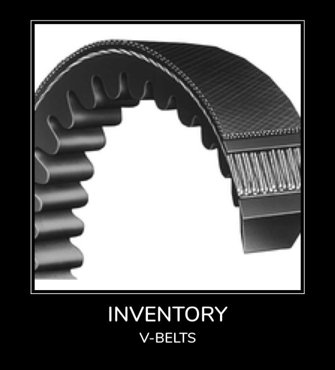 Inventory - V-Belts