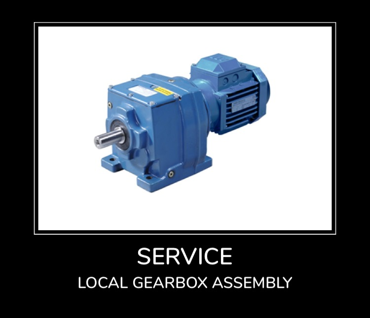 Service - Local Gearbox Assembly