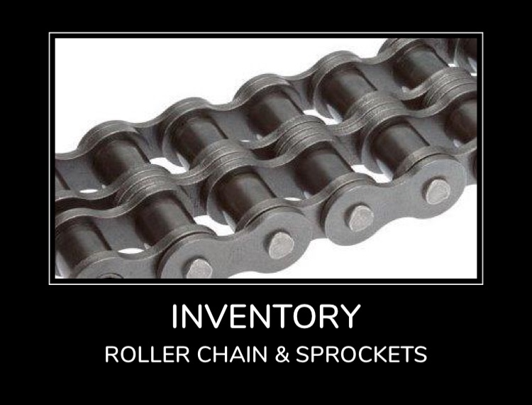 Inventory - Roller Chain & Sprockets