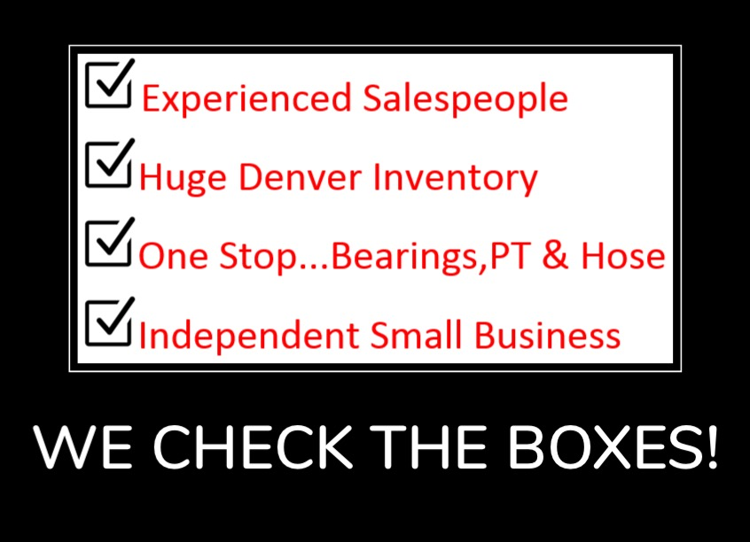 We Check The Boxes!