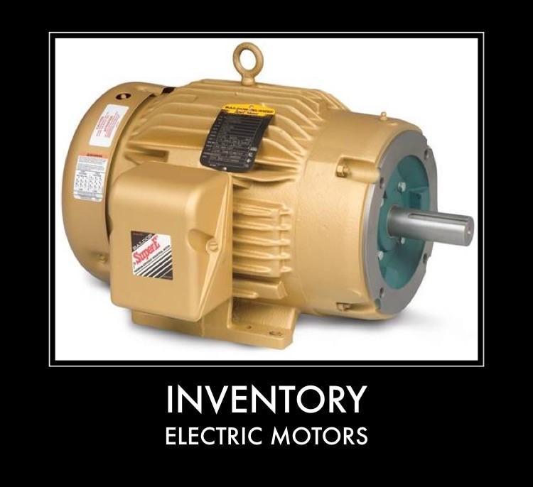 Inventory - Electric Motors