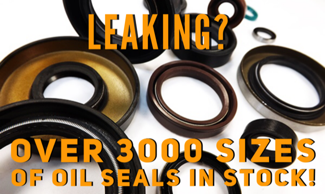 Oil Seals Leaking?