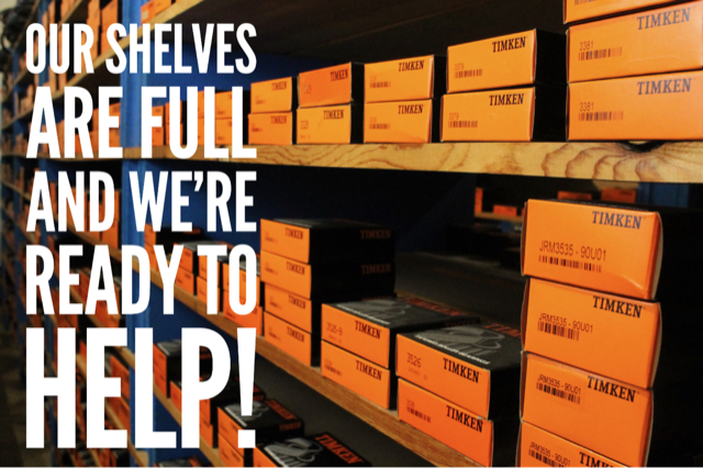 Our Shelves Are Full!
