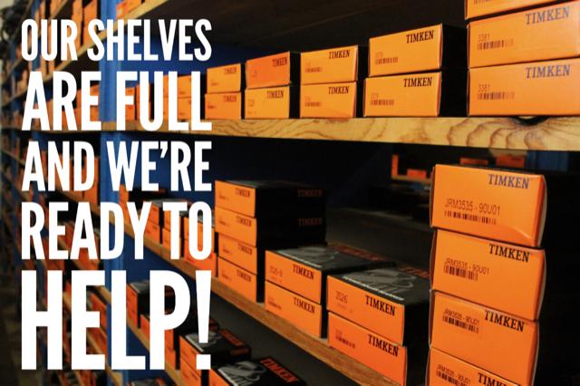 Our Shelves Are Full!